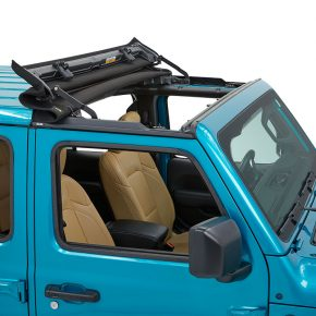Bestop Sunrider for Hardtop - 52454-17 Jeep Wrangler JL, JLU and Gladiator JT - Twill