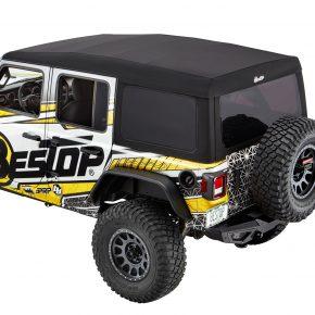 Bestop 54725-17 Supertop Ultra Jeep Wrangler JL Black Twill