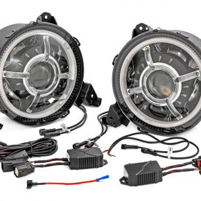 Rough Country RCH5300 LED Headlights Jeep Wrangler JL
